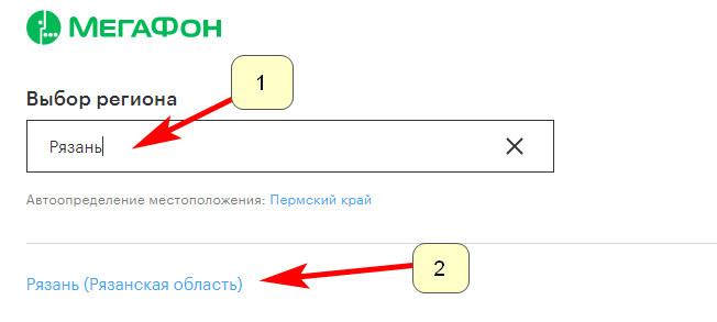 Официальный сайт Мегафон Рязань  rzn megafon ru