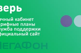 Мегафон Тверь - тарифы, официальный сайт, личный кабинет