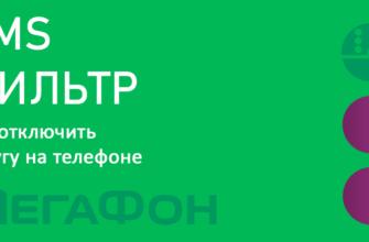 SMS-фильтр Мегафон - описание, подключение, отключение