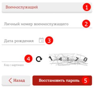 Регистрация и вход в личный кабинет Военнослужащего на официальном сайте mil.ru