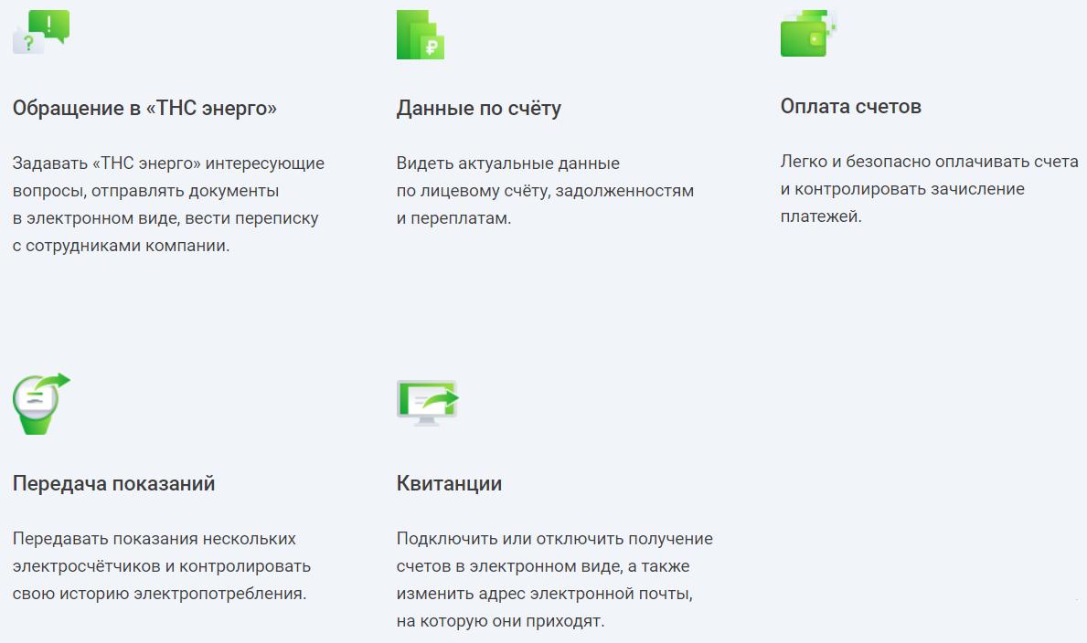 ТНС энерго Нижний Новгород личный кабинет