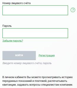 вход в личный кабинет ТНС энерго Воронеж